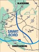 VDOT Smart Road Map