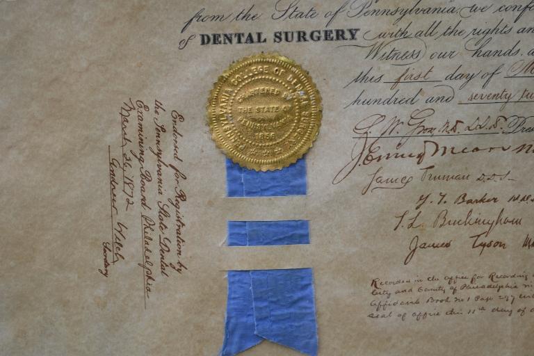Doc Holiday Diploma 2