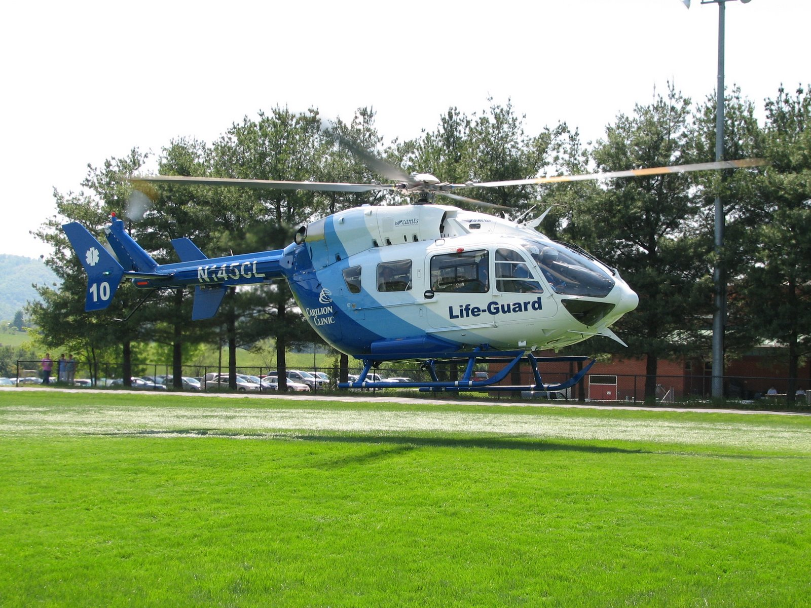 Life Guard Helicopter