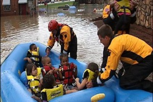 July 2013 Swift Water Rescue (Photo courtesy Roanoke Fire-EMS Facebook Page)
