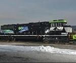 GoRail locomotive (Norfolk Southern Twitter)