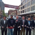 Market Square ribbon cutting