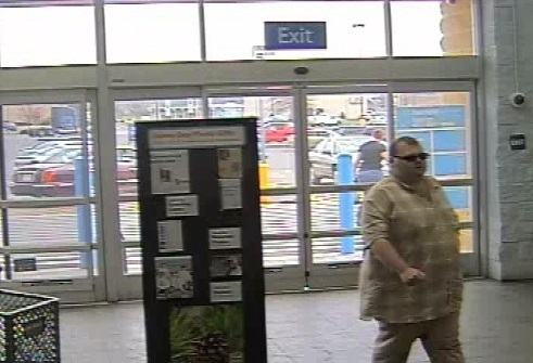 Suspect 2 Fairlawn Wal-Mart Security Footage