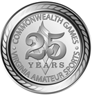 Commonwealth Games 25th Anniversary logo