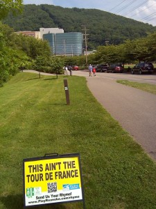 Greenway signs
