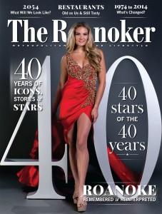 Roanoker-40th Anniversary cover