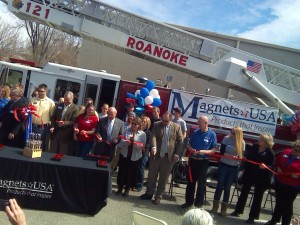 Magnets USA ribbon cutting