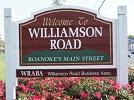 Williamson Road Sign