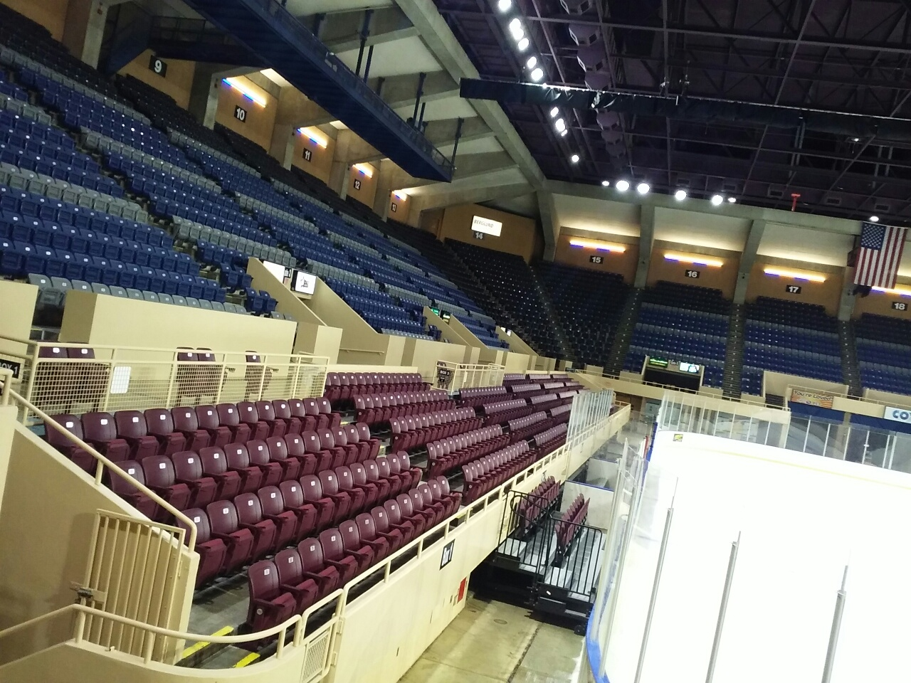 Berglund Coliseum debuts latest upgrade