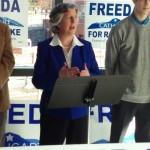Freeda Cathcart announces