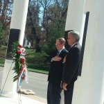 Goodlatte at Vinton war Memorial