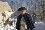 "Photo provided by AMC shows Gov. McAuliffe on ""TURN: Washington's Spies"""