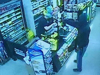 Suspect sought for stealing cash, cigarettes from Rocky Mount store