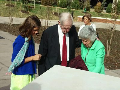 Holton Plaza is dedicated in Roanoke