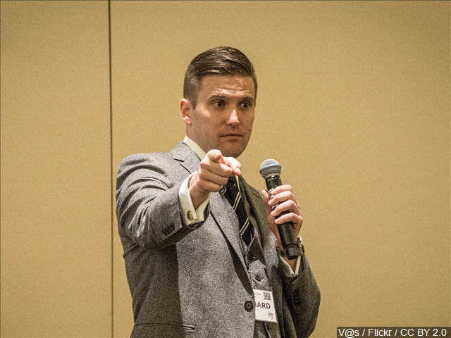 White nationalist reportedly banned from 26 European nations