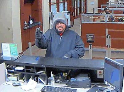 Photo: Police seek armed bank robber