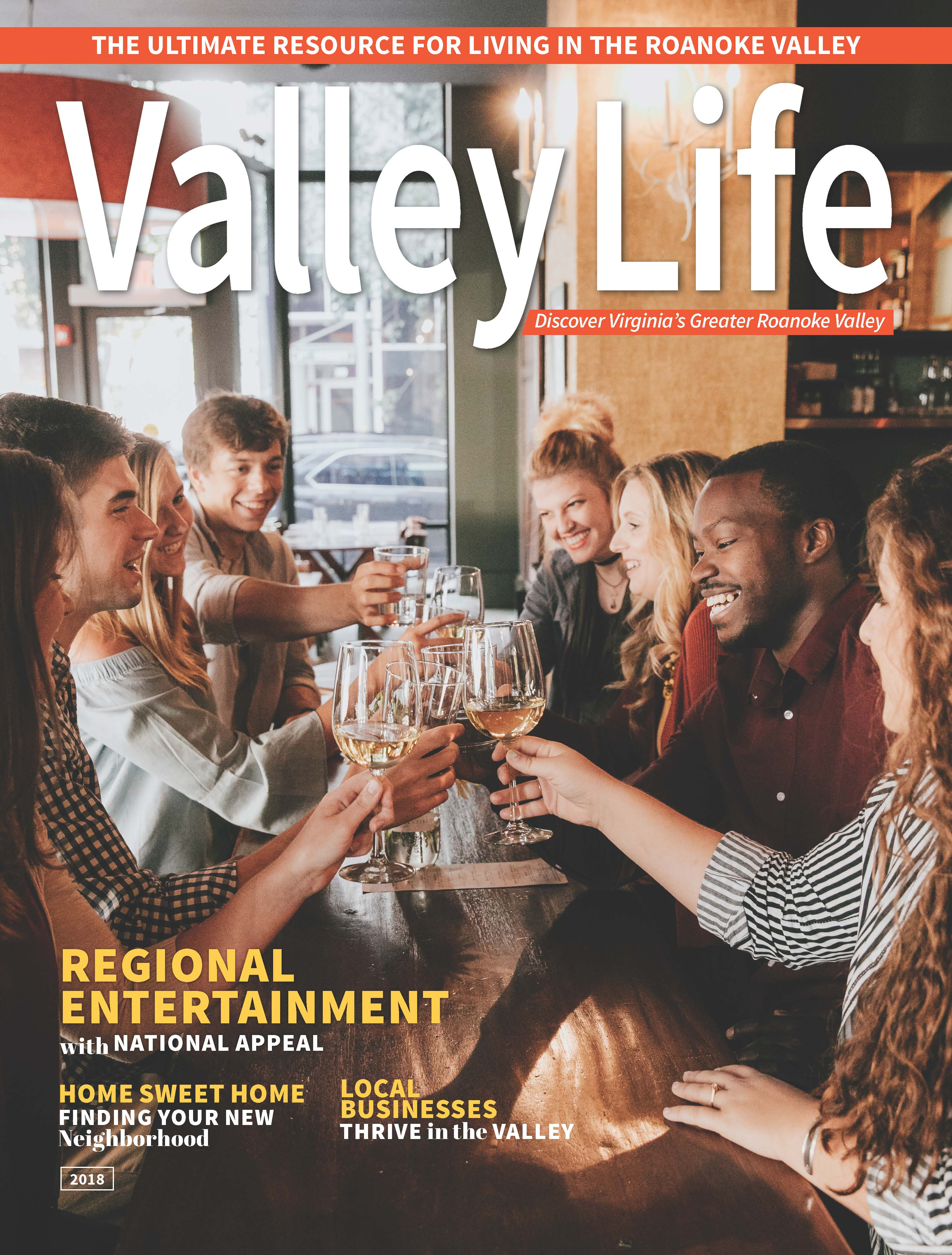 Valley Life magazine reveals cover for 2018
