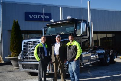 VMT receives donation from Volvo Trucks North America