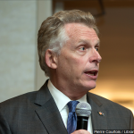 McAuliffe maintains slim lead over Youngkin in new Monmouth poll