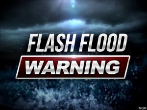 Flash Flood Warning for parts of Roanoke region