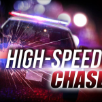 Multi law enforcement agencies involved in high-speed chase last night