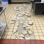 Floor tiles pop out at East Salem Elementary; students dismissed early