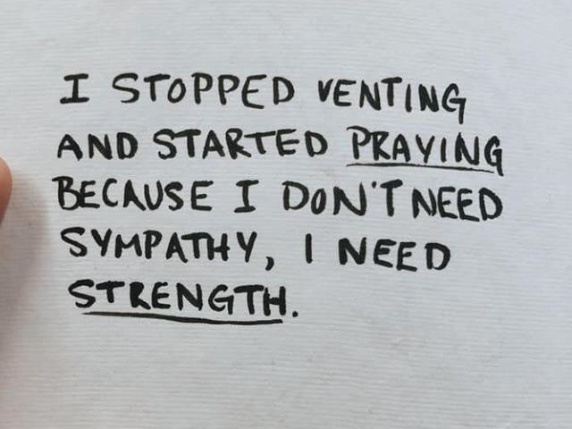 "Alexa Cannon post: ""I don't need sympathy, I need strength ..."