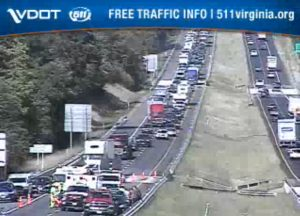 For 2nd day in a row, accident blocks two I-81 southbound