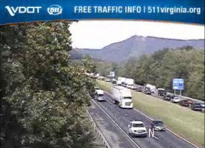 Separate accidents create backups both ways on same stretch of I-81