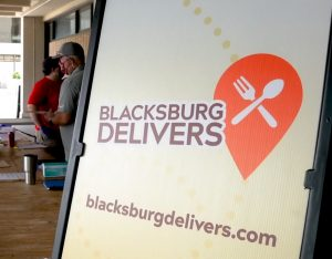 With dining halls closed to many, VT helps create campus lunch delivery app