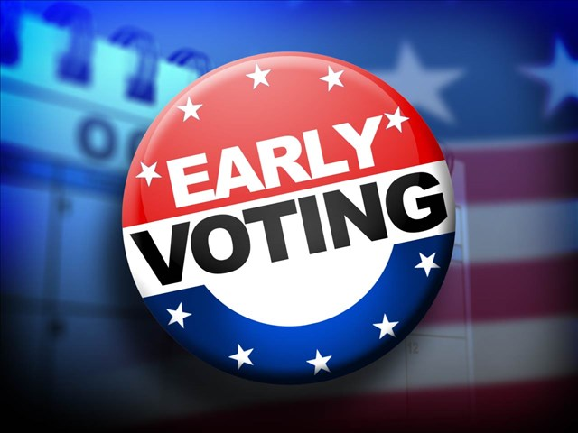 You can cast your vote for president as early as Friday in Virginia