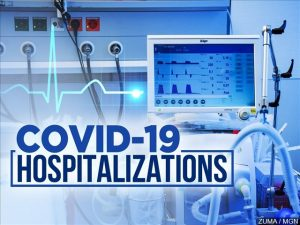 Regional COVID hospitalizations down about 85% from winter peak