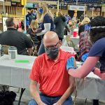 """First booster-focused clinic at Berglund Center is a """"sell out"""""""