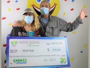 Pulaski woman wins $274,000+ lottery jackpot