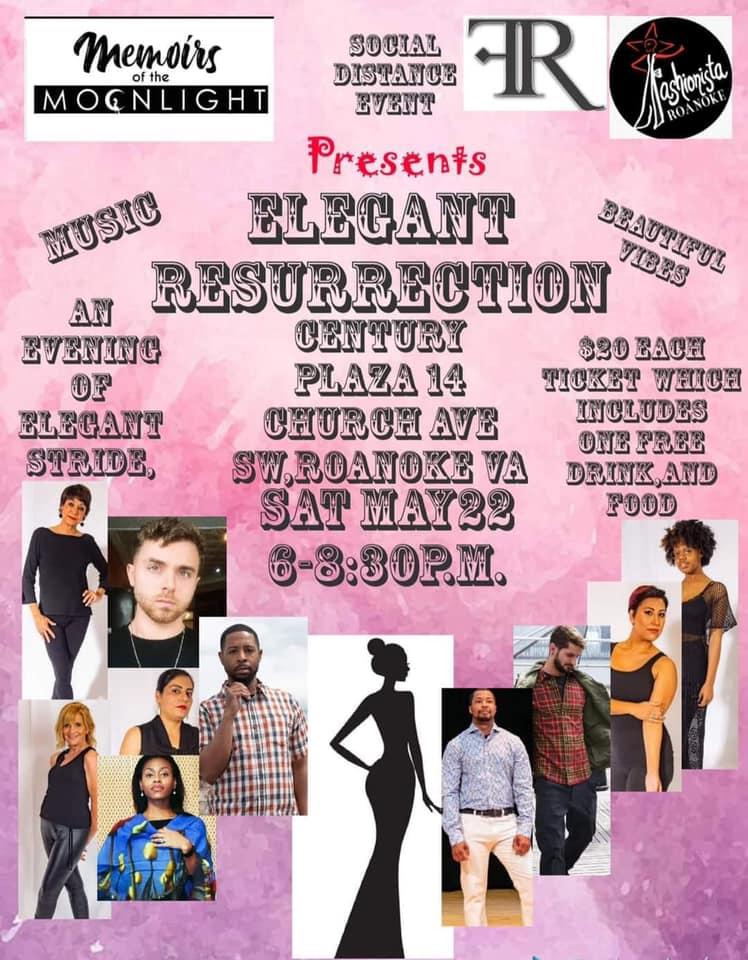 Elegant Resurrection fashion show Saturday in Roanoke