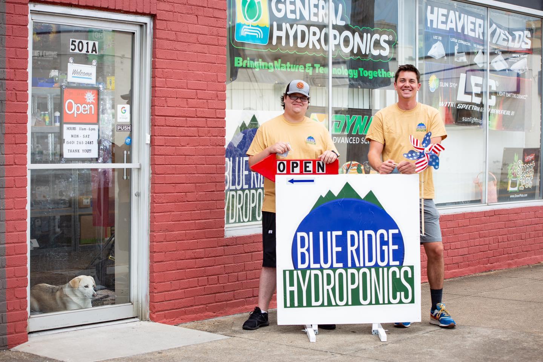 Blue Ridge Hydroponics ready for prospective marijuana growers