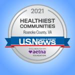 Roanoke County one of nation's healthiest communities in 2021