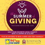 """Simpson Funeral Home, Star Country team up for the """"Summer of Giving"""""""