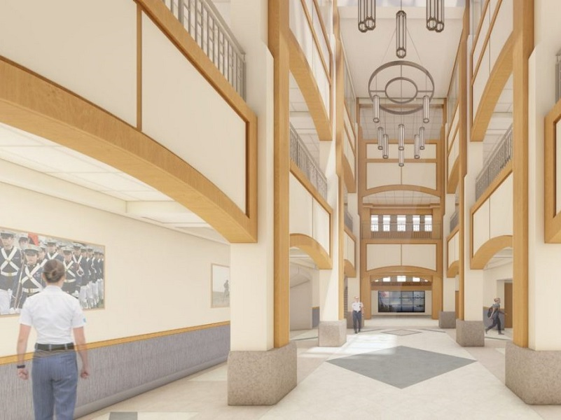 Construction now underway for new VT Corps of Cadets building