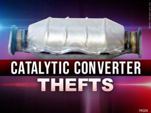 Beware of … catalytic converter thieves