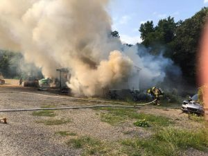 Fire destroys Roanoke County home; cause unknown