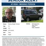 Missing person alert for Harrisonburg man
