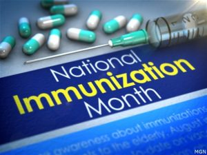 Childhood immunizations are down; health officials urge parents to act