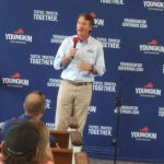 Youngkin campaign turns to George Allen for campaign RV tour